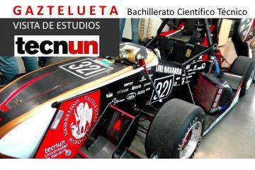 Gaztelueta: visita de estudios a TECNUN Ingeniería (San Sebastián)