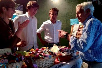 Gaztelueta: voluntarios de Bachillerato stand Zabalketa en Espacios Solidarios - Getxo Folk 2017