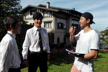 Gaztelueta: Scott Ho (California, USA) nuevo auxilar de conversación en Inglés