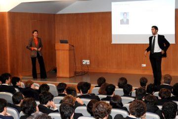 Gaztelueta: V Jornada de Orientación Profesional Bachillerato (2017)