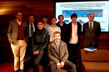 Gaztelueta: Jornada de reflexión sobre el futuro de Europa (Donostia-San Sebastián 29 noviembre 2017)
