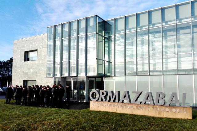 Gaztelueta: visita de estudios Bachillerato Científico-Técnico Grupo Velatia (Boroa)