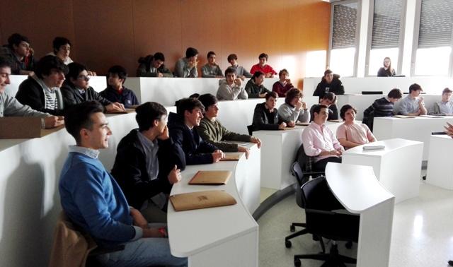Gaztelueta: visita de estudios 1º Bachillerato a la Universidad de Navarra