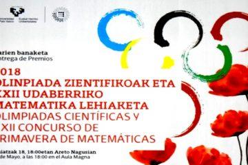 Alumnos de Gaztelueta premiados en las Olimpiadas Científicas 2018