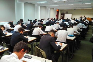 Gaztelueta: exámenes finales 2º Bachillerato