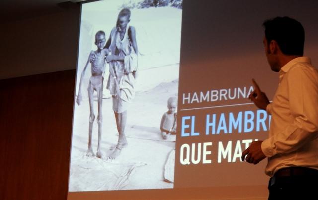 Gaztelueta: sesión sobre el hambre en el mundo