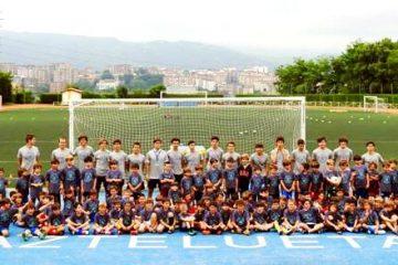 Entrenadores de Bachillerato en el Gaztelueta Bootball Campus 2018