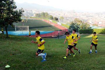 Gaztelueta: alumnos 1º Bachillerato entrenan para el V TRAIL al Ganekogorta