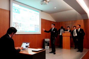 Gaztelueta: presentación del proyecto ESAU (Empresa Simulada)