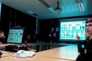 Gaztelueta: visita a Policía Científica de la Ertzaintza