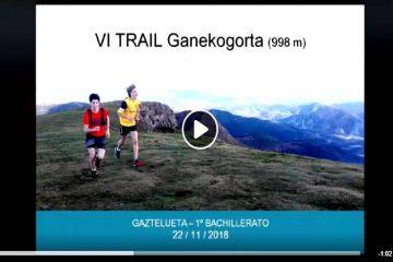 VÍDEO - VI TRAIL Ganekogorta (998 m)
