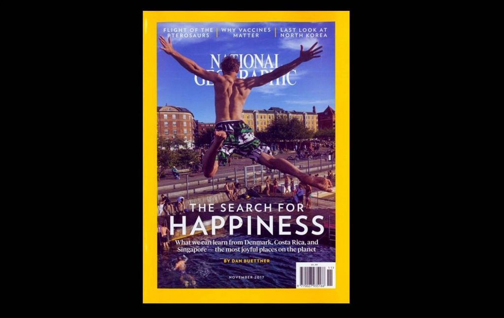'The Blue Zones of Hapiness - NATIONAL GEOGRAPHIC (Novemver 2017)