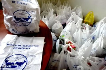 Gaztelueta: campaña Navidad Banco de Alimentos Bizkaia