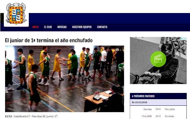 Gaztelueta Junior Basket comienza el año con victoria