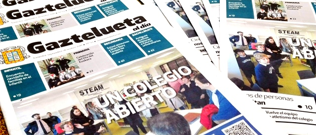 Publicado Nº 93 de 'Gaztelueta al día' (septiembre-diciembre 2018)