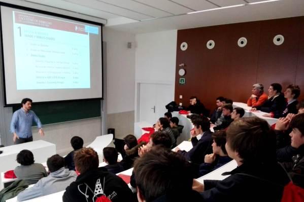 Visita de estudios Universidad de Navarra