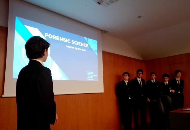 Gaztelueta: proyecto de Ciencia Forense en 1º Bachillerato