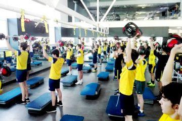 Gaztelueta: fitness en educación física