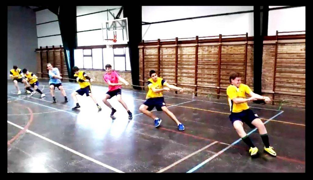 Educación física 1º Bachillerato - Sokatira