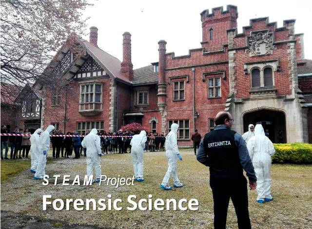 Educación STEAM en Gaztelueta - proyecto Forensic Science