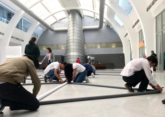 Gaztelueta - taller de arquitectura efímera UNAV Bilbao