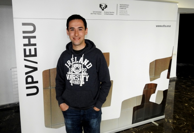 Álvaro Castaños, premio XXIII Concurso Matemáticas UPVEHU