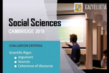 Gaztelueta Social Sciences Congress - Cambridge