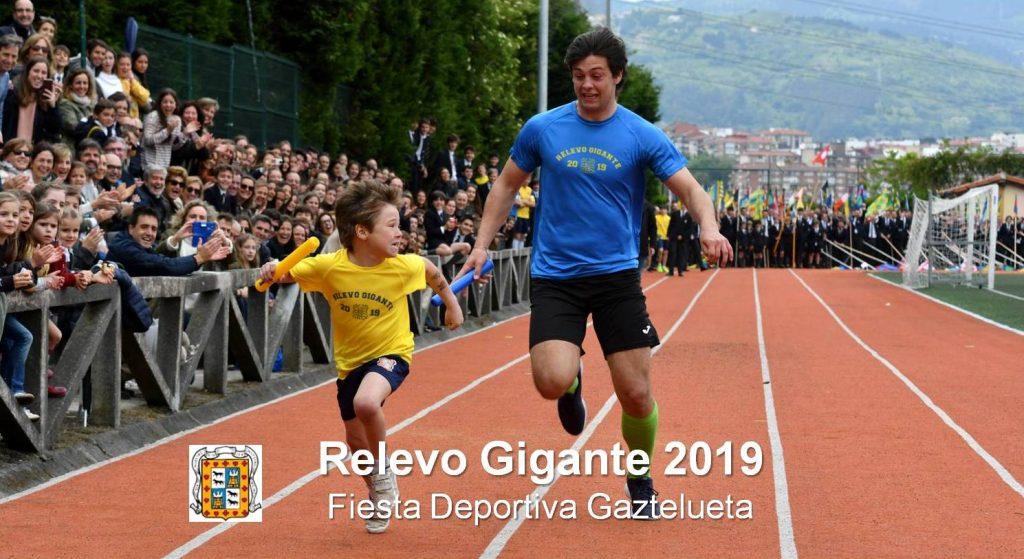 Relevo Gigante - Fiesta Deportiva Gaztelueta 2019