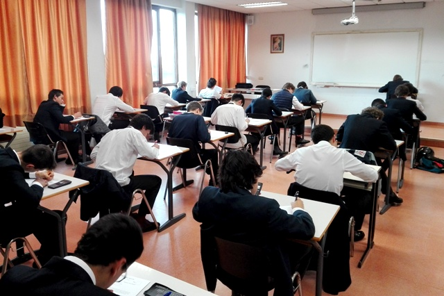 Empiezan los exámenes finales en Gaztelueta