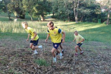 Bachillerato Gaztelueta - entrenamiento VIII TRAIL Ganekogorta