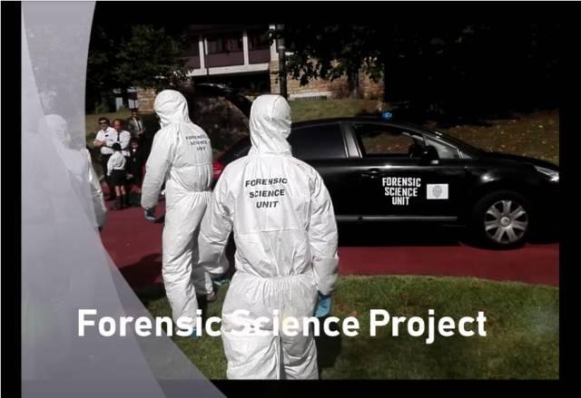 Forensic Science Gaztelueta STEAM project