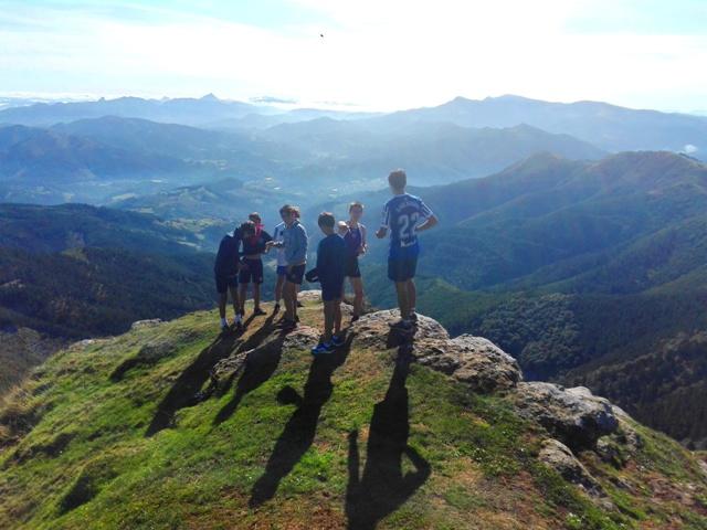 Bachillerato Gaztelueta - VII TRAIL Ganekogorta (998 m)