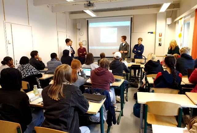 Gaztelueta comparte Forensic Science project en Finlandia