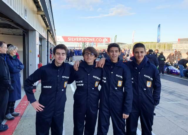 Gaztelueta en Silverstone (UK)