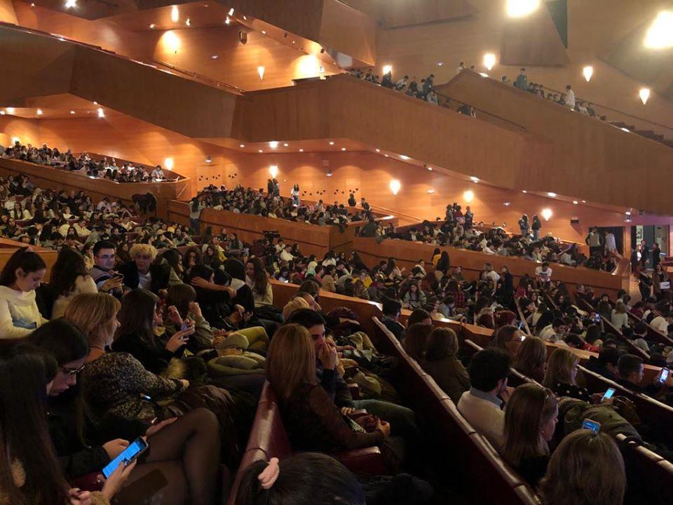 Gaztelueta: congreso LQDVI palacio Euskalduna (Bilbao)