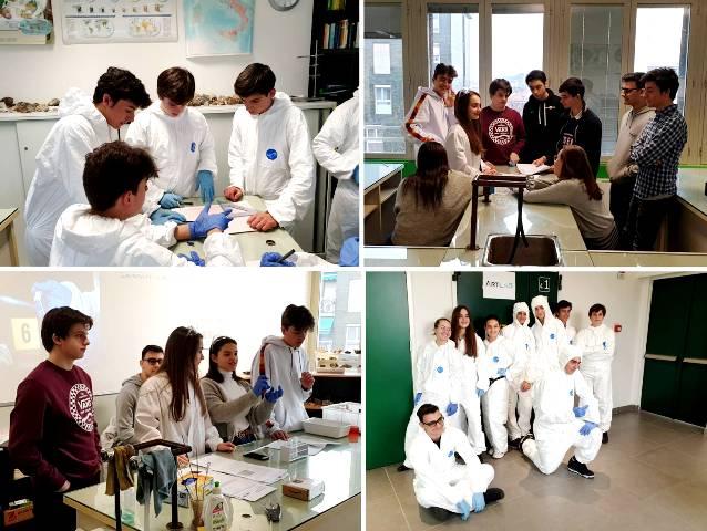 Forensic Science Gaztelueta en colegio FAES Milán