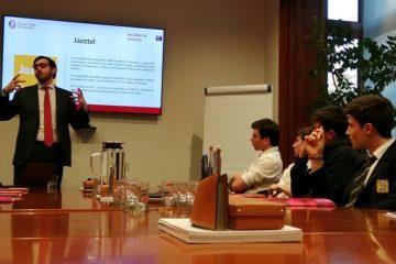 Gaztelueta sesión Derecho en Cuatrecasas Bilbao